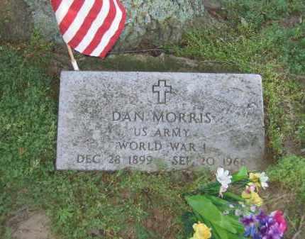 MORRIS (VETERAN WWI), DAN - Lawrence County, Arkansas | DAN MORRIS (VETERAN WWI) - Arkansas Gravestone Photos