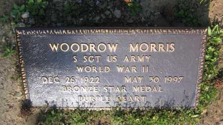 MORRIS (VETERAN WWII), WOODROW - Lawrence County, Arkansas | WOODROW MORRIS (VETERAN WWII) - Arkansas Gravestone Photos