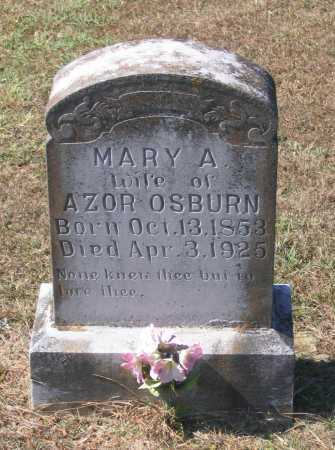 MORRISON OSBURN, MARY A. - Lawrence County, Arkansas | MARY A. MORRISON OSBURN - Arkansas Gravestone Photos
