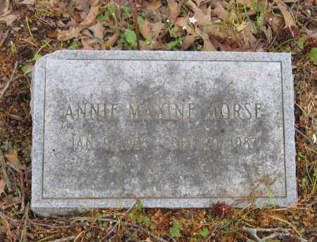 MORSE, ANNIE MAXINE - Lawrence County, Arkansas | ANNIE MAXINE MORSE - Arkansas Gravestone Photos