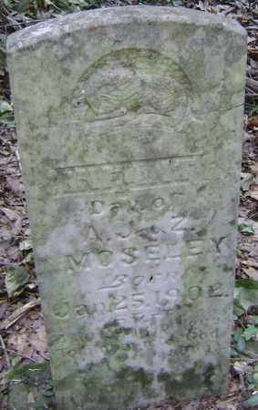 MOSELEY, INFANT DAUGHTER - Lawrence County, Arkansas | INFANT DAUGHTER MOSELEY - Arkansas Gravestone Photos