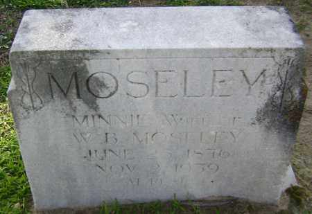 MOSELEY, MINNIE BELL - Lawrence County, Arkansas | MINNIE BELL MOSELEY - Arkansas Gravestone Photos