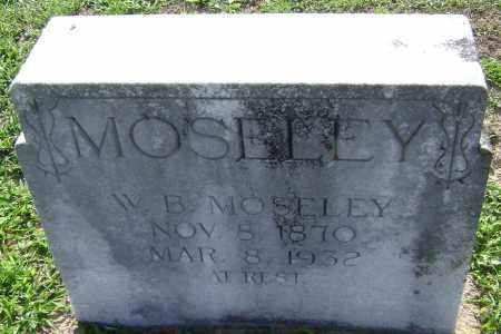 MOSELEY, W. B, - Lawrence County, Arkansas | W. B, MOSELEY - Arkansas Gravestone Photos
