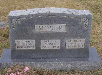 HUDSON MOSER, KATIE - Lawrence County, Arkansas   KATIE HUDSON MOSER - Arkansas Gravestone Photos