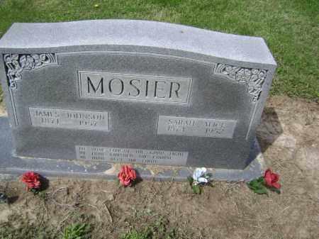 MOSIER, SARAH ALICE - Lawrence County, Arkansas | SARAH ALICE MOSIER - Arkansas Gravestone Photos