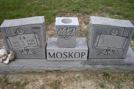 MOSKOP, J. B. - Lawrence County, Arkansas   J. B. MOSKOP - Arkansas Gravestone Photos