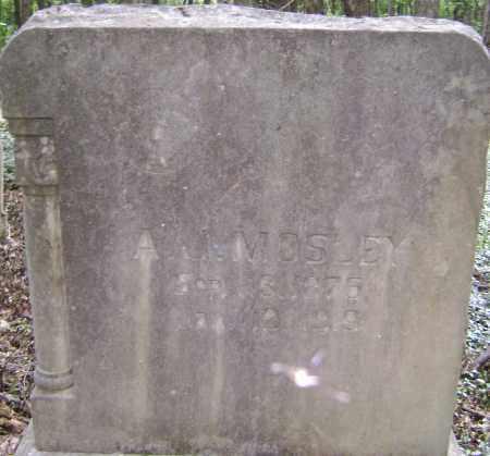 MOSLEY, A. J. - Lawrence County, Arkansas | A. J. MOSLEY - Arkansas Gravestone Photos