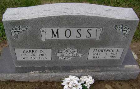 MOSS, HARRY B. - Lawrence County, Arkansas | HARRY B. MOSS - Arkansas Gravestone Photos