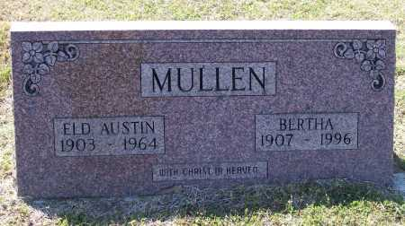 MULLEN, ELDER, HOMER AUSTIN - Lawrence County, Arkansas | HOMER AUSTIN MULLEN, ELDER - Arkansas Gravestone Photos