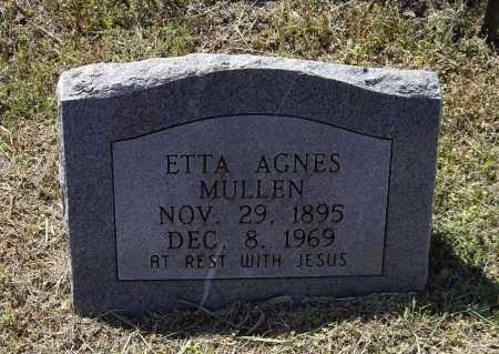 MULLEN, ETTA AGNES - Lawrence County, Arkansas | ETTA AGNES MULLEN - Arkansas Gravestone Photos