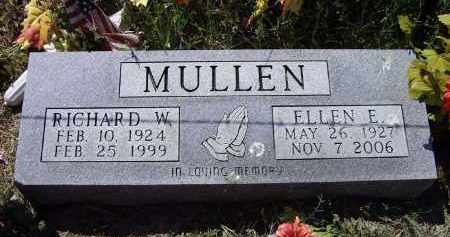 """MULLEN, RICHARD WESLEY """"DICK"""" - Lawrence County, Arkansas 