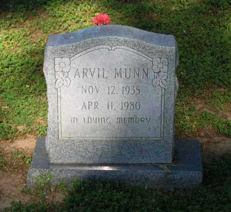 MUNN, ARVIL - Lawrence County, Arkansas   ARVIL MUNN - Arkansas Gravestone Photos