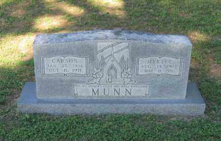 MUNN, CARSON - Lawrence County, Arkansas | CARSON MUNN - Arkansas Gravestone Photos