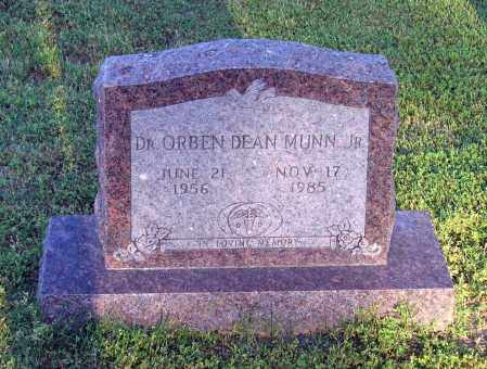 MUNN JR., MD, ORBEN DEAN - Lawrence County, Arkansas | ORBEN DEAN MUNN JR., MD - Arkansas Gravestone Photos