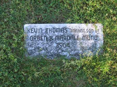 MUNN, KEVIN THOMAS - Lawrence County, Arkansas   KEVIN THOMAS MUNN - Arkansas Gravestone Photos