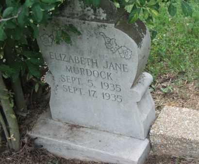 MURDOCK, ELIZABETH JANE - Lawrence County, Arkansas   ELIZABETH JANE MURDOCK - Arkansas Gravestone Photos