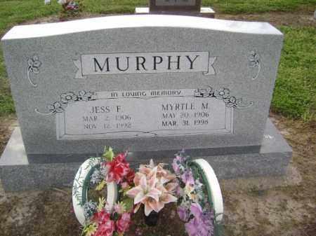 MURPHY, JESS F. - Lawrence County, Arkansas | JESS F. MURPHY - Arkansas Gravestone Photos