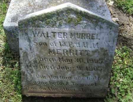 MERRITT, WALTER MURRELL - Lawrence County, Arkansas | WALTER MURRELL MERRITT - Arkansas Gravestone Photos