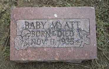 MYATT, INFANT - Lawrence County, Arkansas | INFANT MYATT - Arkansas Gravestone Photos