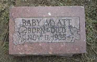 MYATT, INFANT - Lawrence County, Arkansas | INFANT MYATT - Arkansas Gravestone Photos