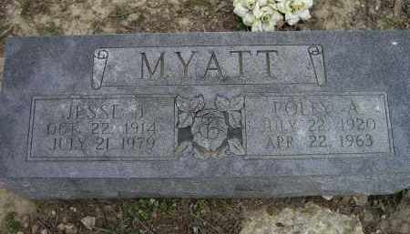 MYATT, JESSE J. - Lawrence County, Arkansas | JESSE J. MYATT - Arkansas Gravestone Photos