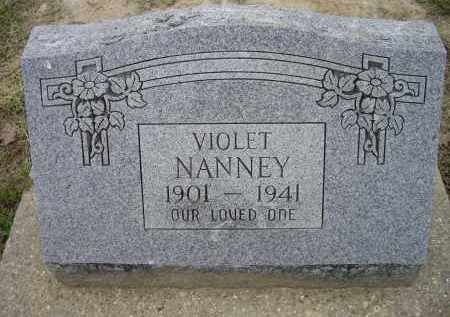 NANNEY, VIOLET - Lawrence County, Arkansas | VIOLET NANNEY - Arkansas Gravestone Photos