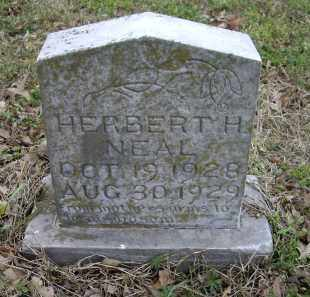 NEAL, HERBERT H. - Lawrence County, Arkansas | HERBERT H. NEAL - Arkansas Gravestone Photos