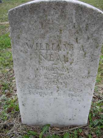 NEAL (VETERAN WWI), WILLIAM A. - Lawrence County, Arkansas | WILLIAM A. NEAL (VETERAN WWI) - Arkansas Gravestone Photos