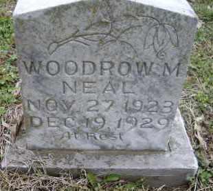 NEAL, WOODROW M. - Lawrence County, Arkansas | WOODROW M. NEAL - Arkansas Gravestone Photos