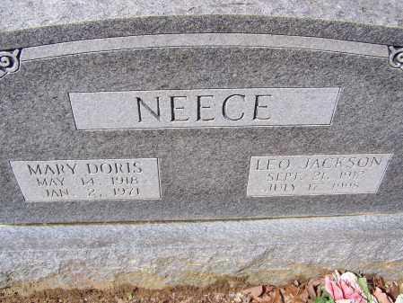 NEECE, MARY DORIS - Lawrence County, Arkansas | MARY DORIS NEECE - Arkansas Gravestone Photos