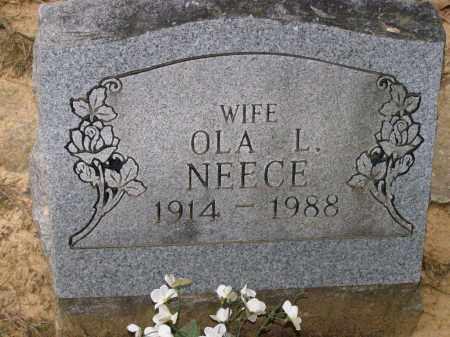NEECE, OLA LAVELLE GOZA DAILEY - Lawrence County, Arkansas | OLA LAVELLE GOZA DAILEY NEECE - Arkansas Gravestone Photos