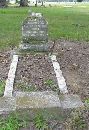NEECE, WONDERLINE - Lawrence County, Arkansas   WONDERLINE NEECE - Arkansas Gravestone Photos