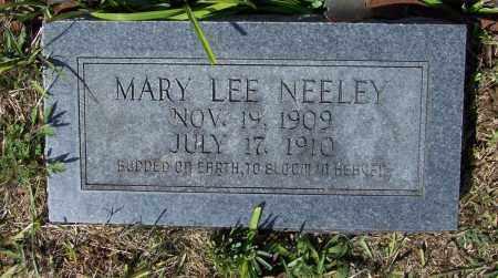 NEELEY, MARY LEE - Lawrence County, Arkansas | MARY LEE NEELEY - Arkansas Gravestone Photos