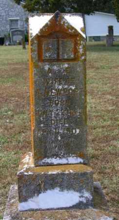 RICHMOND NEWPORT, AMANDA TABITHA ANGERONY - Lawrence County, Arkansas | AMANDA TABITHA ANGERONY RICHMOND NEWPORT - Arkansas Gravestone Photos