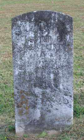 NEWPORT (VETERAN), LESTER E. - Lawrence County, Arkansas   LESTER E. NEWPORT (VETERAN) - Arkansas Gravestone Photos