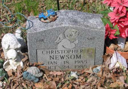 NEWSOM, CHRISTOPHER L. - Lawrence County, Arkansas | CHRISTOPHER L. NEWSOM - Arkansas Gravestone Photos
