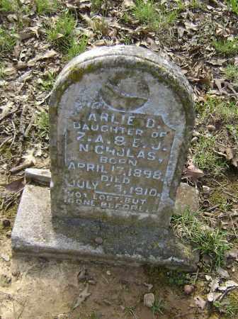 NICHOLAS, ARLIE D. - Lawrence County, Arkansas | ARLIE D. NICHOLAS - Arkansas Gravestone Photos