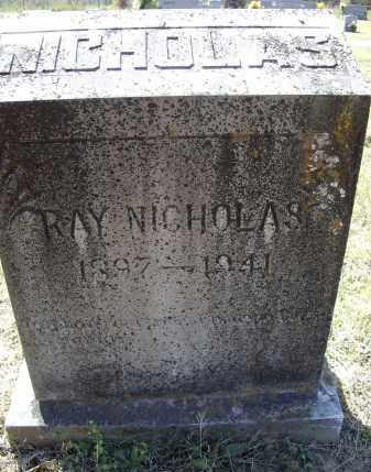 NICHOLAS, THOMAS RAY - Lawrence County, Arkansas   THOMAS RAY NICHOLAS - Arkansas Gravestone Photos