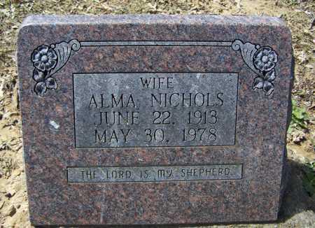 NICHOLS, ALMA - Lawrence County, Arkansas | ALMA NICHOLS - Arkansas Gravestone Photos