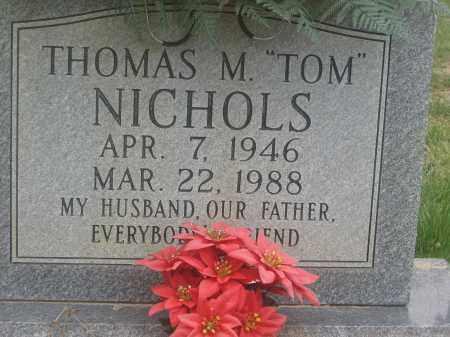 """NICHOLS, THOMAS M. """"TOM"""" - Lawrence County, Arkansas   THOMAS M. """"TOM"""" NICHOLS - Arkansas Gravestone Photos"""