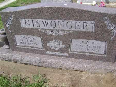 NISWONGER, DALLAS MONROE - Lawrence County, Arkansas | DALLAS MONROE NISWONGER - Arkansas Gravestone Photos