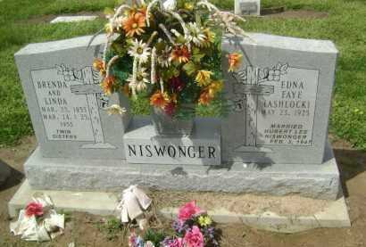 NISWONGER, BRENDA - Lawrence County, Arkansas | BRENDA NISWONGER - Arkansas Gravestone Photos