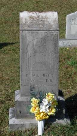 "NIXON, MD, MARION C. ""M C."" - Lawrence County, Arkansas   MARION C. ""M C."" NIXON, MD - Arkansas Gravestone Photos"