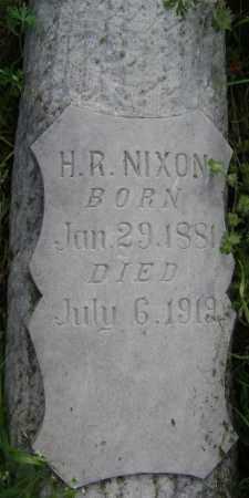 NIXON, H. R. - Lawrence County, Arkansas | H. R. NIXON - Arkansas Gravestone Photos