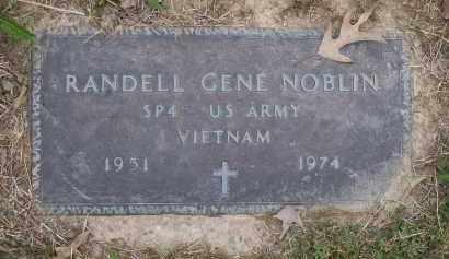 NOBLIN (VETERAN VIET), RANDELL GENE - Lawrence County, Arkansas | RANDELL GENE NOBLIN (VETERAN VIET) - Arkansas Gravestone Photos