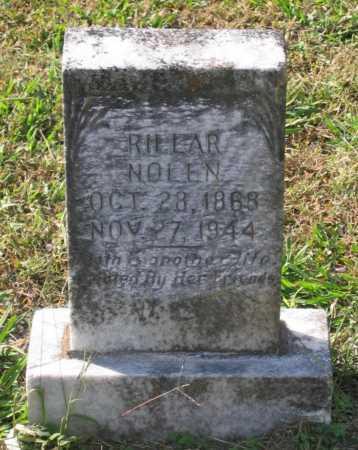 NOLEN, RILLAR - Lawrence County, Arkansas | RILLAR NOLEN - Arkansas Gravestone Photos