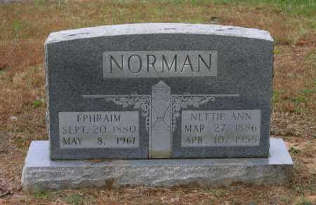 NORMAN, NETTIE ANN - Lawrence County, Arkansas | NETTIE ANN NORMAN - Arkansas Gravestone Photos