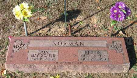 """NORMAN, JAMES DONALD """"DON"""" - Lawrence County, Arkansas 