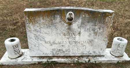 "NORMAN, DALTON WILLIAM ""BILLIE"" - Lawrence County, Arkansas   DALTON WILLIAM ""BILLIE"" NORMAN - Arkansas Gravestone Photos"