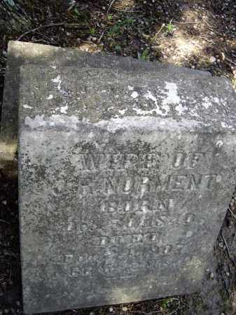 """NORMENT, SIDNEY """"SHINE"""" - Lawrence County, Arkansas 